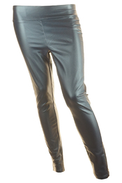 Leder look marine legging