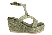 Sandalen van het merk Garde-robe in het Munt