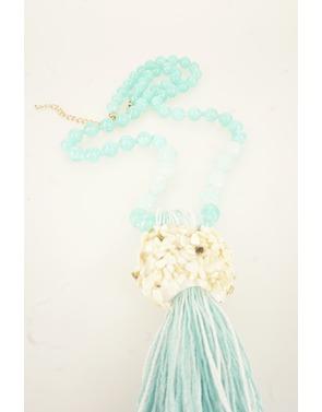 Garde-robe - Lange Halsketting - Turquoise