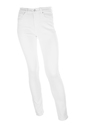 Witte skinny jeans