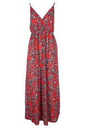 Lang Kleed van het merk Garde-robe in het Groen-rood
