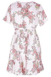 Halflang Kleedje van het merk Garde-robe in het Wit-roze