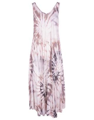 Lang Kleed van het merk Garde-robe in het Zwart-roze