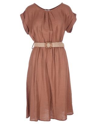 Halflang Kleedje van het merk Garde-robe in het Bruin