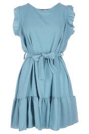 Halflang Kleedje van het merk Garde-robe in het Blauw