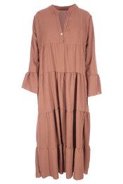 Lang Kleed van het merk Garde-robe in het Camel