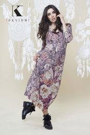 K-design - Lang kleed - Oud roze