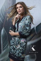 Halflang Kleedje van het merk K-design in het Multicolor