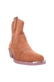 Korte Laarzen van het merk Garde-robe in het Camel