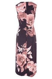 Halflang Kleedje van het merk Rinascimento in het Zwart-roze