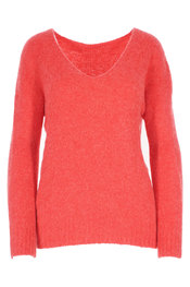 Pull van het merk Amelie-amelie in het Rood