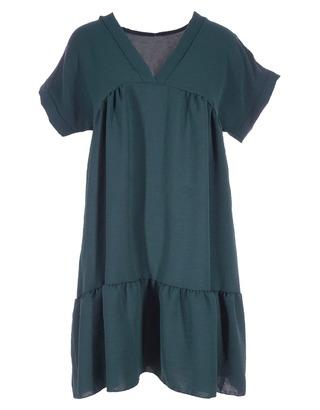 Halflang Kleedje van het merk Garde-robe in het Donker groen