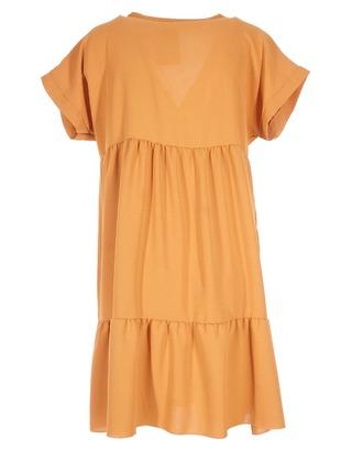 Halflang Kleedje van het merk Garde-robe in het Oker