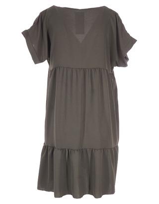 Halflang Kleedje van het merk Garde-robe in het Kaki