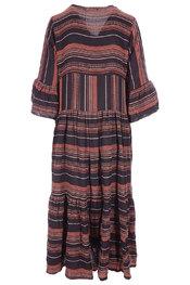 Lang Kleed van het merk Garde-robe in het Zwart-bruin