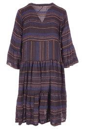 Halflang Kleedje van het merk Garde-robe in het Zwart-blauw