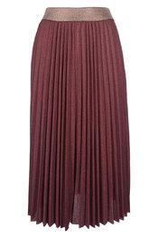 Garde-robe - Halflange Rok - Paars