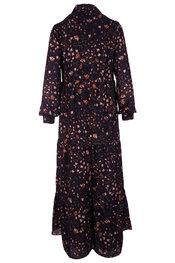Lang Kleed van het merk Senso in het Zwart-roze