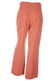 Lange Broek van het merk Amelie-amelie in het Donker oranje