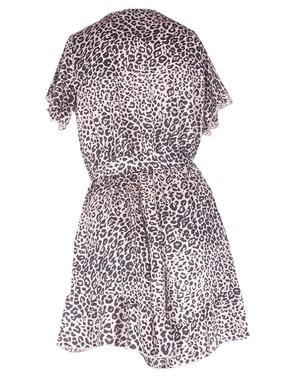 Halflang Kleedje van het merk Garde-robe in het Zwart-beige