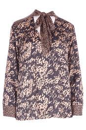 Garde-robe - Blouse - Zwart-bruin