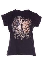 Rinascimento - T-shirt - Zwart