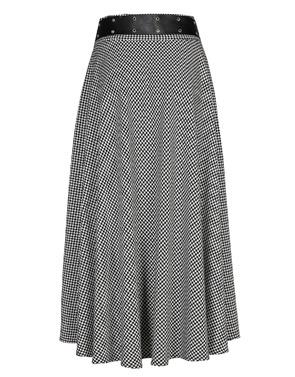 Lange Rok van het merk Caroline Biss in het Zwart-grijs