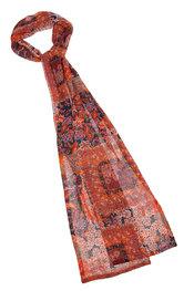 Sjaals van het merk Caroline Biss in het Blauw-roze