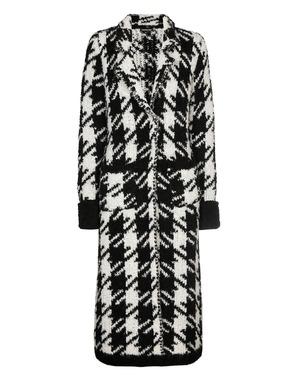 Mantel van het merk Caroline Biss in het Zwart-wit