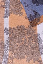 Sjaals van het merk Soya in het Blauw-bruin