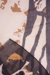 Sjaals van het merk Soya in het Zwart-beige