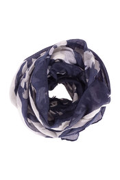 Sjaals van het merk Soya in het Blauw-grijs