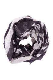 Soya - Sjaals - Zwart-grijs