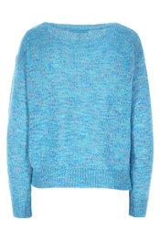 Pull van het merk Amelie-amelie in het Turquoise