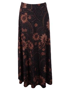 Lange Rok van het merk Garde-robe in het Kaki