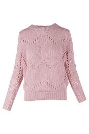 Pull van het merk K-design in het Roze