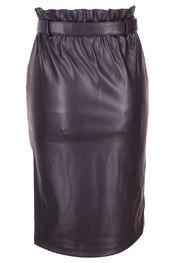 Soya - Halflange Rok - Zwart