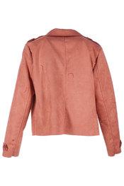 Jas van het merk Amelie-amelie in het Donker oranje