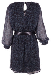 Garde-robe - Halflang Kleedje - Zwart-groen