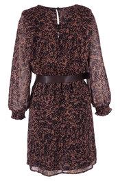 Garde-robe - Kleedjes - Zwart-bruin