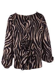 Garde-robe - Top - Zwart-bruin