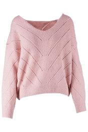 Pull van het merk Garde-robe in het Oud roze