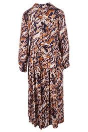Lang Kleed van het merk Garde-robe in het Zwart-geel