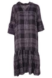 Lang Kleed van het merk Soya in het Zwart-grijs