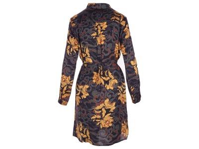 Halflang Kleedje van het merk Garde-robe in het Zwart-geel