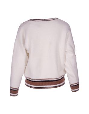 Pull van het merk Garde-robe in het Wit
