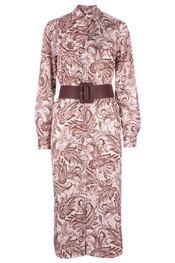 Lang Kleed van het merk Atmos in het Roze-beige
