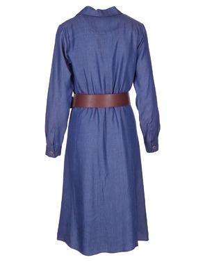 Lang Kleed van het merk Atmos in het Blauw