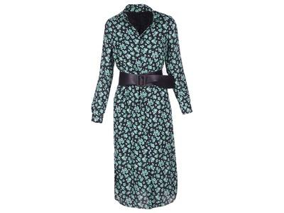 Lang Kleed van het merk Senso in het Zwart-groen