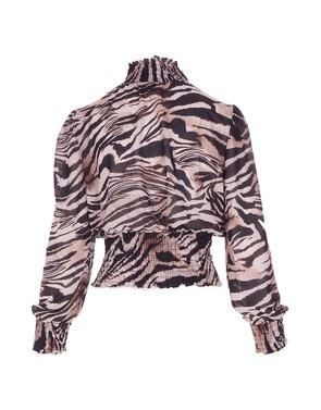 Top van het merk Garde-robe in het Zwart-beige